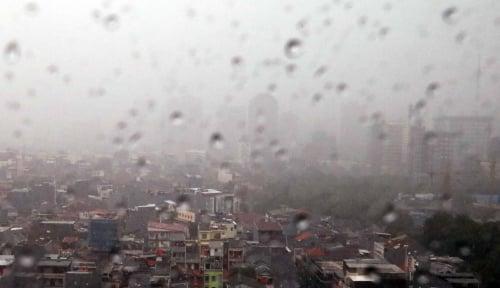 Foto Hari ini Jakarta Diprediksi Diguyur Hujan