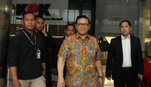 Foto Agung Laksono dan Ormasnya Deklarasi Dukung Jokowi-Ma'ruf