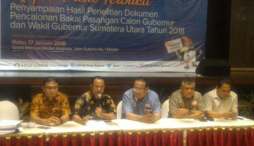 Foto Waduh!!, Semua Balon Gubsu Belum Punya Tanda Bukti Penyerahan LHKPN dari KPK