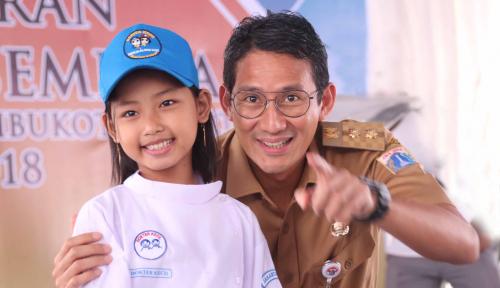 Foto Sandiaga Ingin Tiket Asian Games Sentuh Semua Lapisan Warga