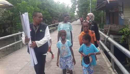 Foto LKC Dompet Dhuafa Bangun Pojok Nutrisi Keluarga di Distrik Agat Wamena
