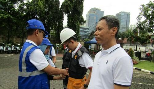Foto Gelar Apel K3, PLN Disjaya Minta Pegawai Peduli Keselamatan