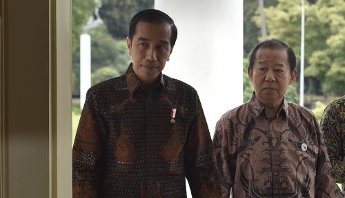 Foto Jokowi: Jangan Lagi Kita Berprasangka Buruk Satu Sama Lainnya