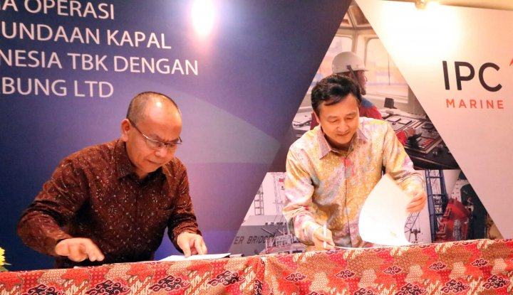 Foto Berita Permudah Operasi Pelayanan Kapal, Jasa Armada Indonesia Gandeng PetroChina