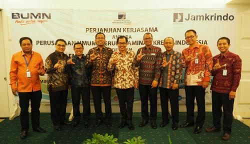 Foto Jamkrindo Sepakati Perjanjian Kerja Sama dengan LPDB