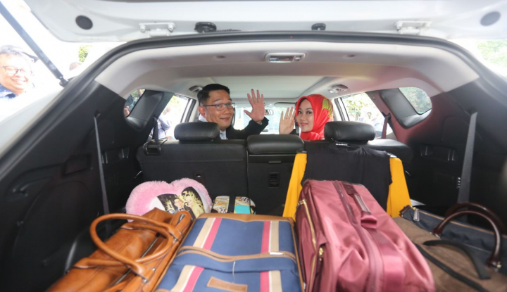 Foto Berita Ridwan Kamil Tinggalkan Rumah Dinas, Warga Net Galau