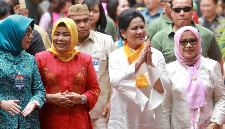 Foto Berita Iriana Jokowi Kunjungi PAUD di Gorontalo