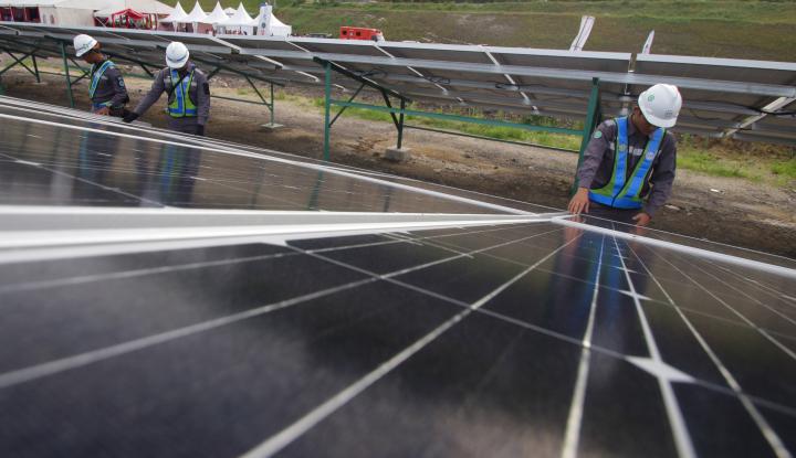 Foto Berita Len Industri Garap PLTS Tol Sumatera