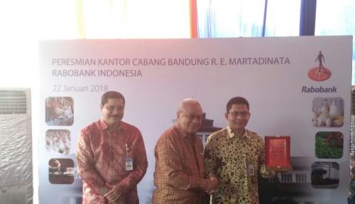 Foto Relokasi Kantor Cabang di Bandung, Rabobank Siap Garuk Ini