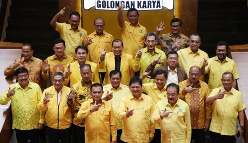 Foto DPP Golkar Umumkan Kepengurusan Baru