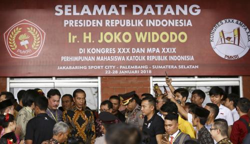 Foto Presiden Harap Mahasiswa Dukung Kesuksesan Pilkada 2018