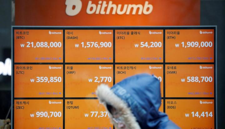 Foto Berita Korsel: Korea Utara Curi Cryptocurrency Senilai Miliaran Won