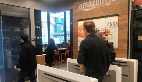 Foto Amazon Luncurkan Toko Tanpa Kasir Kedua di Seattle