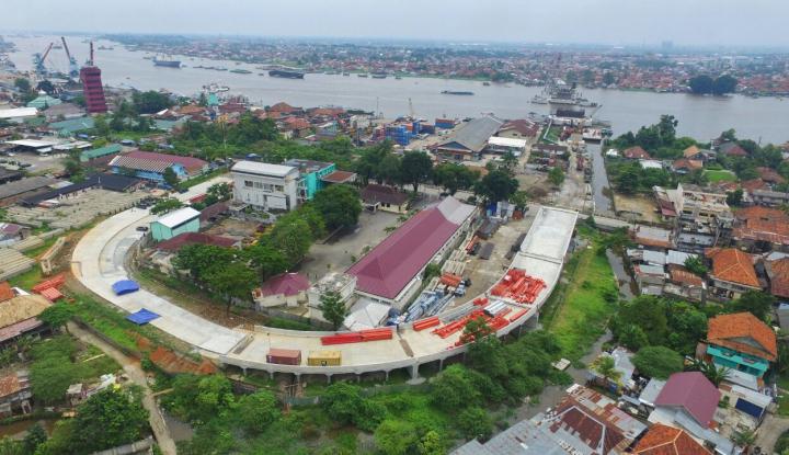 Foto Berita Menteri Basuki: Jembatan Musi IV Rampung Sebelum Asian Games