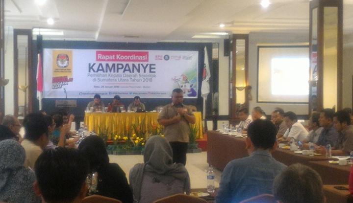 Foto Berita Jelang Pilkada, KPU Sumut Gelar Rakor