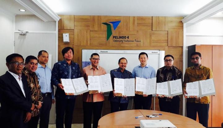 Foto Berita Sinergi, Pelindo IV Teken Memorandum Kolaborasi