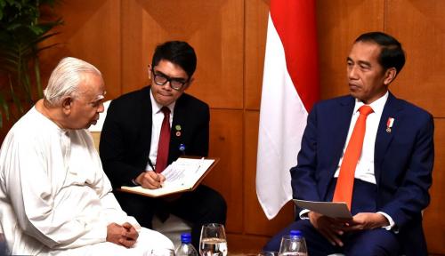 Foto Jokowi Ingin Perkuat Hubungan Indonesia-Sri Lanka