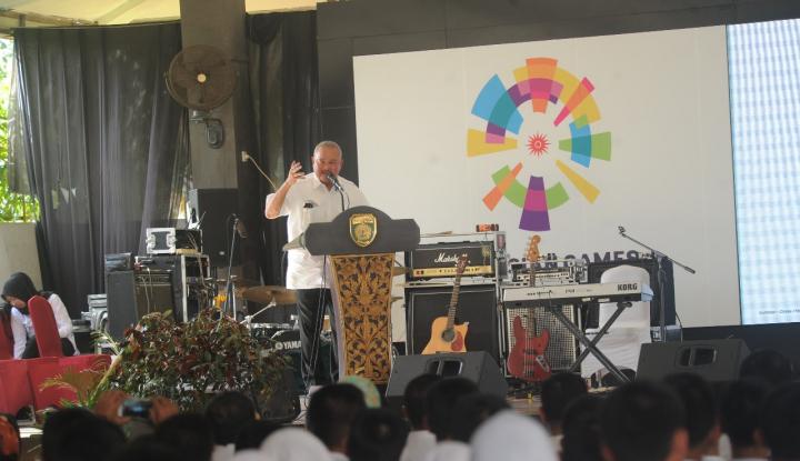 Foto Berita Gubernur Sumsel Mulai Sosialisasi Asian Games Ke Tenaga Medis