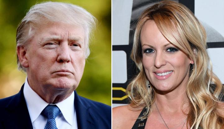 Foto Berita Donald Trump 'Ada Main' dengan Bintang Film Dewasa Stormy Daniels