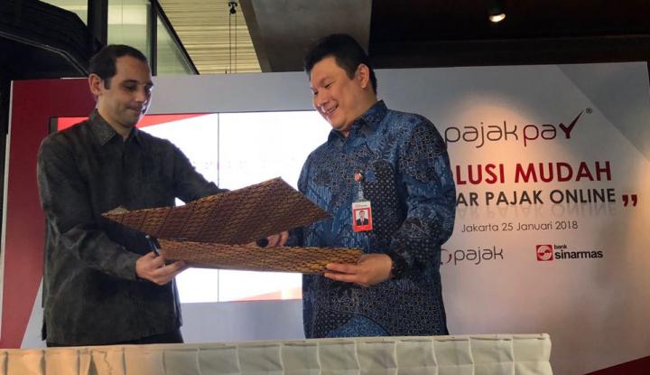 Foto Berita OnlinePajak Gandeng Bank Sinarmas Permudah Pembayaran Pajak