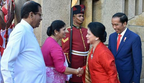 Foto Kesamaan ASEAN dan India Menurut Jokowi