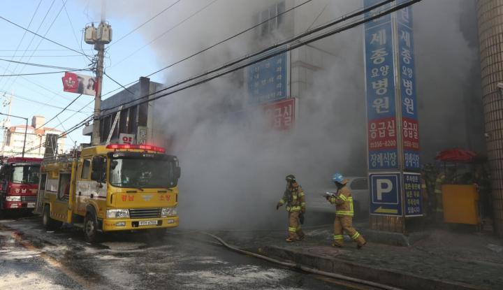 Foto Berita Kebakaran RS Tewaskan 40 Orang, Presiden Korsel Adakan Rapat Darurat