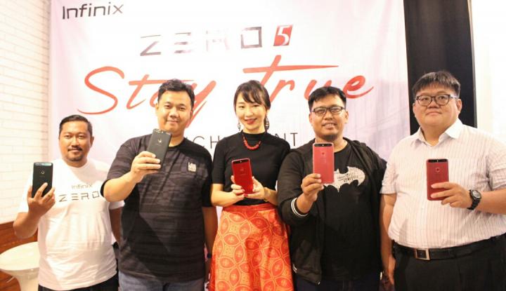 Foto Berita Resmi Rilis di Indonesia, Infinix Zero 5 Tawarkan Ragam Fitur