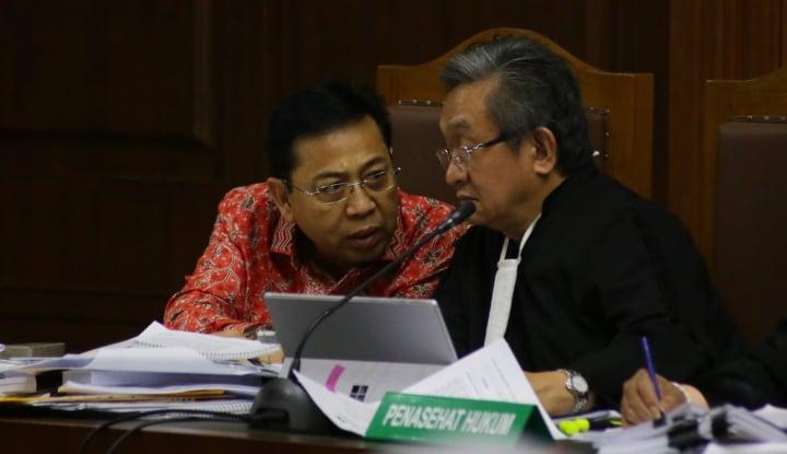 Foto Berita KPK: Setnov Masih Tak Mau 'Ngaku'