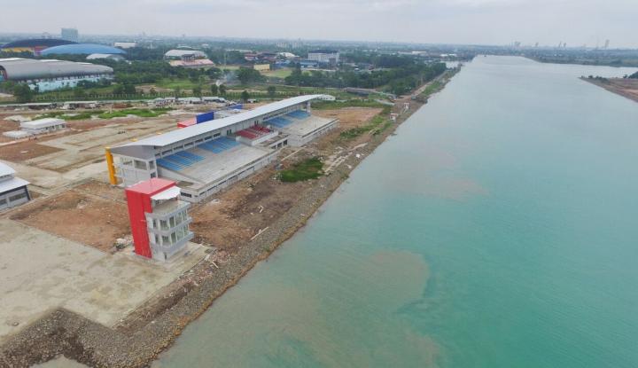 Foto Berita Menteri Basuki: Venue Dayung dan Arena Menembak Sudah Rampung