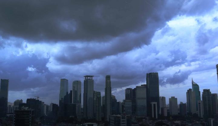 Foto Berita Hari ini, Jakarta Masih Diguyur Hujan