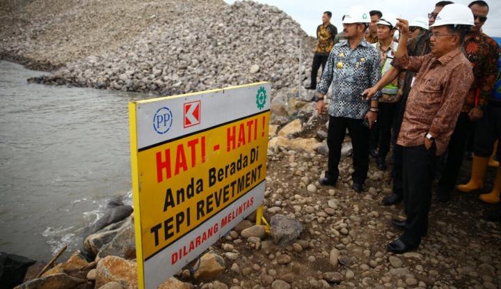 Foto Berita Proyek MNP Capai 59 Persen, Wapres JK Bilang Begini