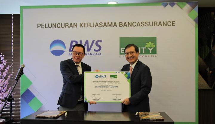 Foto Berita Equity Life Indonesia dan Bank Woori Saudara Jalin Kerja Sama Strategis