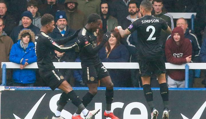 Foto Berita Leicester City Amankan Kemenangan Atas Brighton
