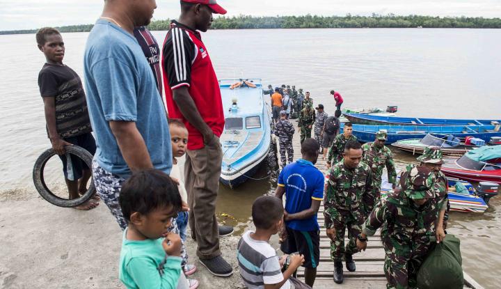 Foto Berita Pemerintah Wacanakan Relokasi Warga Asmat