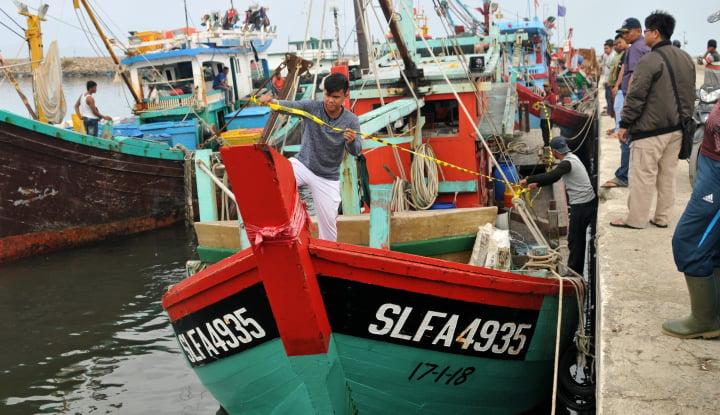 Foto Berita KKP Amankan Kapal Nelayan Berbendera Malaysia
