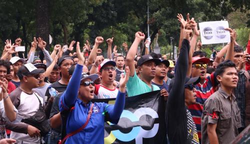 Foto Tolak Kriminalisasi Rizal Ramli, KSPI Siapkan Aksi Besar-Besaran di Seluruh Indonesia