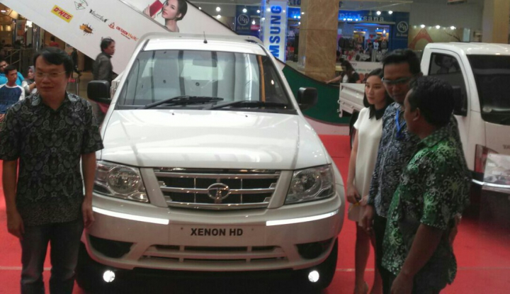 Foto Berita Lengkapi Potensi Pasar di Sumut, Tata Motors Hadirkan Xenon HD