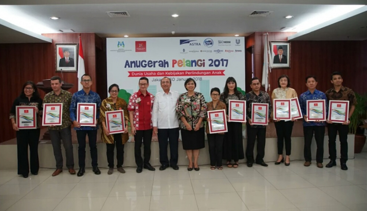 Foto Berita Sepuluh Perusahaan Raih Penghargaan Anugerah Pelangi 2017 dari APSAI