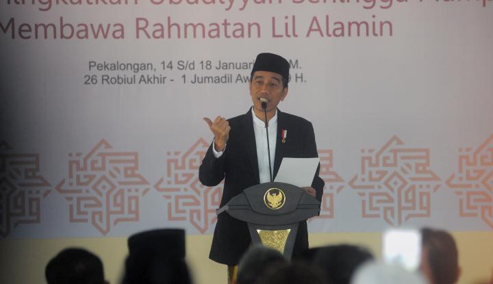 Foto Berita Jokowi Ingatkan Rakyat Jangan Terpecah Karena Pilkada