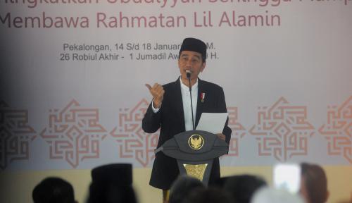 Foto Jokowi Ingatkan Rakyat Jangan Terpecah Karena Pilkada