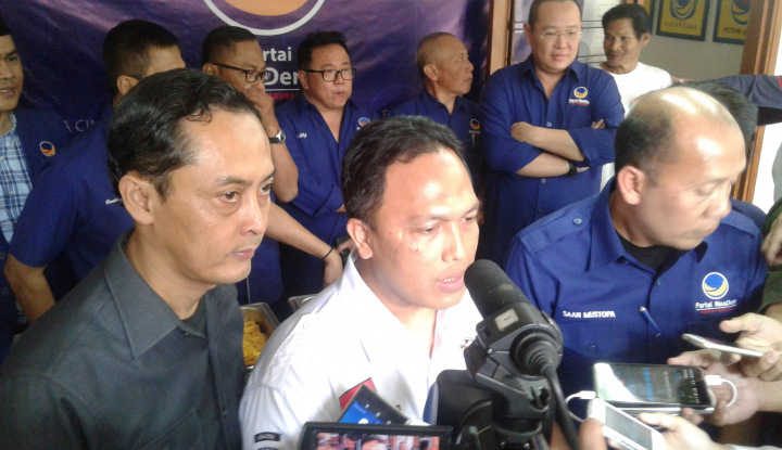 Foto Berita Sambangi NasDem, KPU Jabar Verifikasi 3 Hal