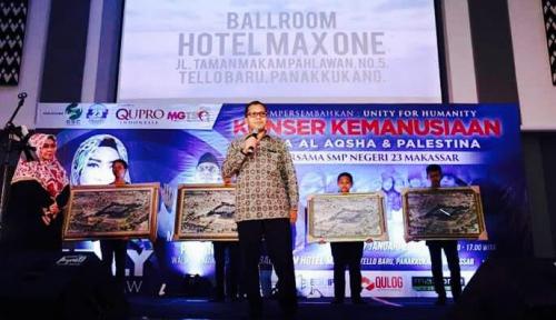 Foto Wali Kota Makassar Ajak Warga Bantu Palestina