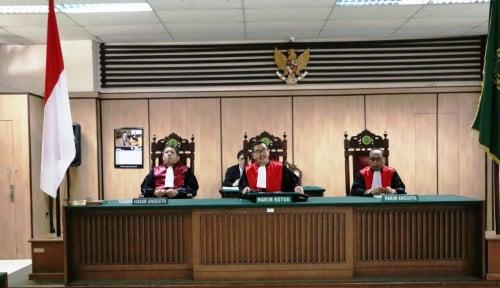 Foto Terdakwa Pembunuh Suporter Persija Dituntut hingga 11 Tahun