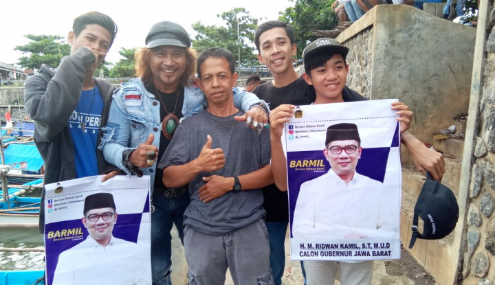 Foto Berita Preman Pensiun Dukung Emil Jadi Gubernur Jabar