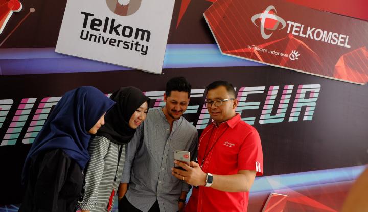 Foto Berita Telkomsel Dorong Generasi Milenial Terjun ke Industri Kreatif