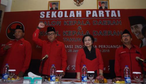 Foto Kader PDIP Wajib Dukung Pilihan Partai
