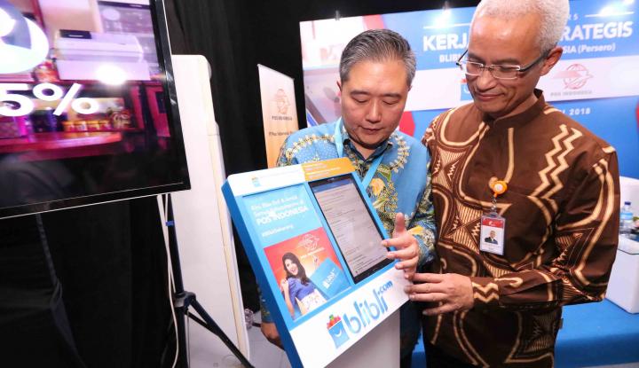 Foto Berita Ini Alasan Blibli Gandeng Pos Indonesia Hadirkan Kiosk InStrore