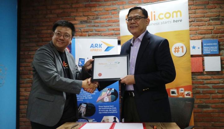 Foto Berita Perkuat Pasar B2B, Ralali.com Gandeng ARK Xpress