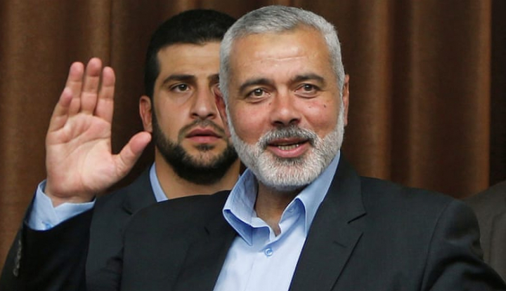 Foto Berita AS Tempatkan Pemimpin Hamas Dalam Daftar 'Teroris Global'