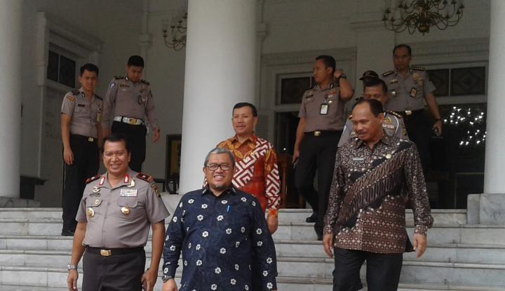 Foto Berita Soal Hasil Pemeriksaan BPK, Aher: Insya Allah WTP Lagi